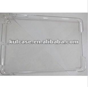 Newest transparent case for Ipad mini