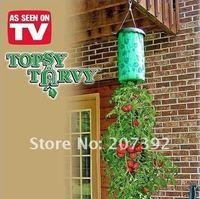 Подвесной цветочный горшок topsy turvy as seen on tv 1pc via China post