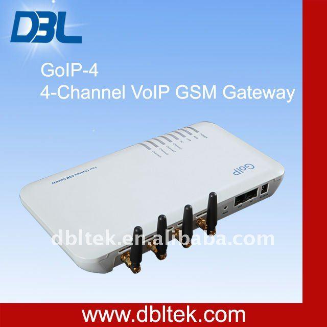 IMEI Change:4 Channel Wireless VoIP GSM Gateway/SIP&H.323