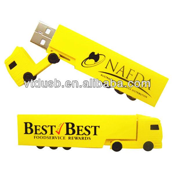 Truck Shaped USB, Long Truck USB, 8GB USB Flash