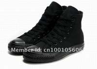 Мужские кроссовки Full Black canvas shoe woman and man