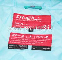 Женская куртка для лыжного спорта new ONEILL womens blue with letter scrawl waterproof breathable snowboarding jacket ladies skiing ski jacket skiwear
