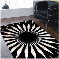 60*180cm 50*200cm 70*140cm Custom/made Sunflowers and black/and/white abstract handmade living room carpet /coffee tablecarpet