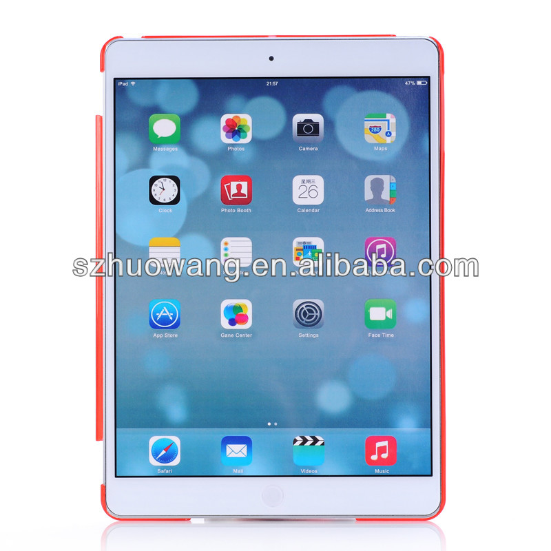 Hot sales crystal matte case for ipad air,for ipad mini