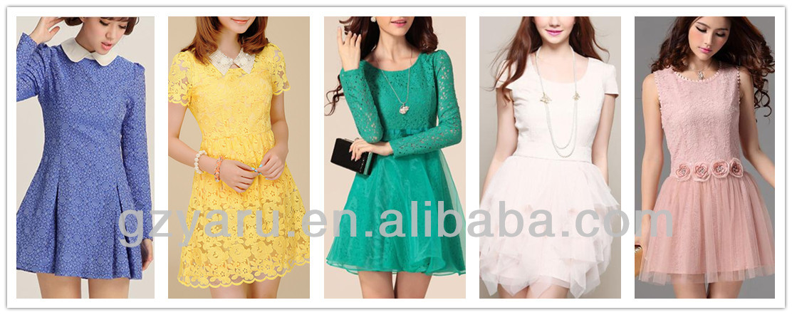2013 high fashion korean girl clothes