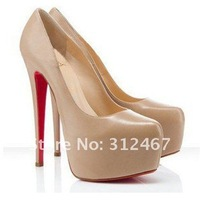 Туфли на высоком каблуке APRICOT 2012 new Stiletto 14CM Platform Womens Super-High Heel Pumps Shoes US Sizes 5-8.5GDA-2 EU 35-39