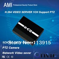 Камера наблюдения Economical IP Video server 1ch D1 resulition with PTZ connecter network ip camera VIDEO ENCODER support onvif VLC RTSP