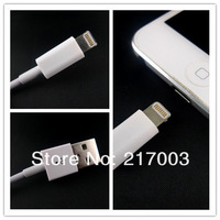 NEW CONNECTOR! Cable For iPhone 5 Cable  USB Data Sync & Adapter Charger Cable For iPhone 5 New 8 Pin, 50pcs/lot DHL Free Ship