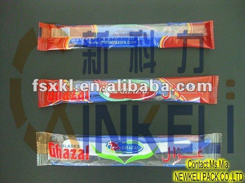 disposable razor flow wrap packing machine
