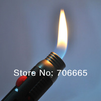 Зажигалка Pen Style Windproof Butane Jet Torch Flamethrower Lighter w/ Easy-adjust Switch