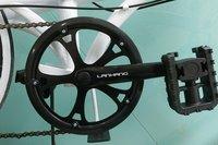 "Smart High quality 20""wheel 7-speed folding bike for woman V-brake Sh-ma- no thumb shifter"