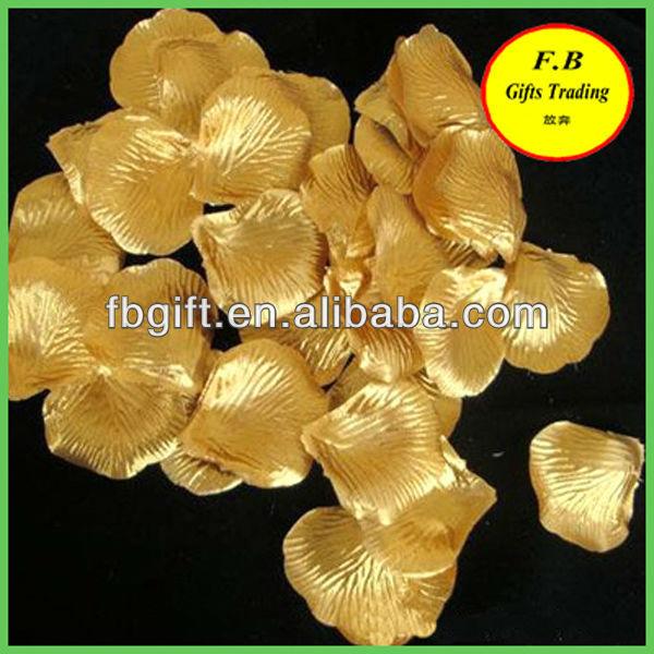 gold artificial flower (FB-F1047)