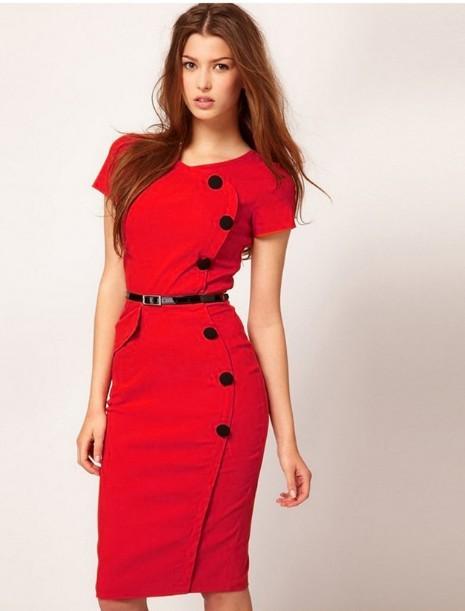 Красивые платья до колен