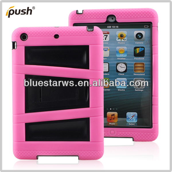 For ipad air Hard Case, For ipad air Case Plastic, 2 in 1 Robot Silicone PC Case For iPad Air
