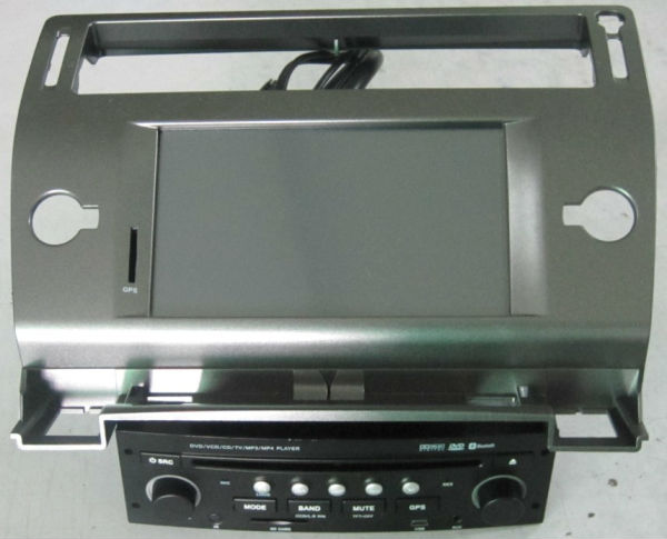 can bus citroen c4 car dvd gps navigation tv bt ( 4 Corlors black,silver,silver grey,brown)