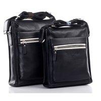 Портфель 100% PU+Leather Casual Men Bag, 2013 New Style Shoulder Bag, Best quality Men Bag