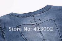 2012 New fashion mini  Dress / Women's Dresses / Jean skirt, STORE NO 413092