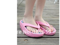 Женские сандалии fashion ladies' slipper, beach slipper wedge heels and flip flops CY-01-060