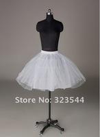 3 слоя белый коктейль не обруч, короткие свадебные для новобрачных юбку юбка скольжения