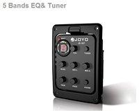 Аксессуары для гитары Brand New Guitar 5-Band Preamp EQ Tuner Pickup JOYO JE-307