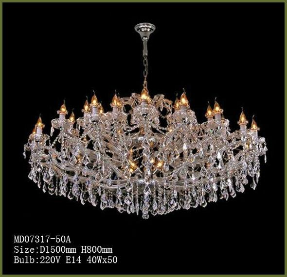 Grand cristal lustres pour h tels grande lustres en cristal pas cher lustre - Lustre pas cher cristal ...
