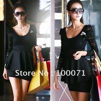 Женское платье [13295 01 01 Off-shoulder Mini Dress