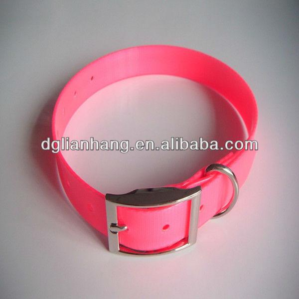 Waterproof fluorescent dog shock collar