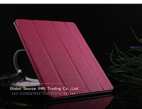 Чехол для планшета Superior Cross pattern Smart cover for ipad 3 2 Magnetic Leather Case for ipad 3 Hard Shell Anti-skid Rubber Leather for ipad2