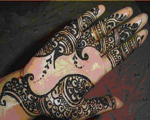 Mehndi Body Art Quality Henna : Black mehndi designs body art quality henna