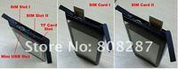 "Мобильный телефон 32G 32GB 2012 Quad Band Unlocked 3.6"" Touch Screen GSM Dual SIM Mini N9 Mobile Phone"
