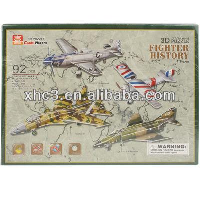 3D Puzzle Fighter History Model Card Kit (92pcs)