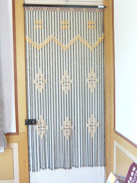 90 180cm de madera decorativos cortinas de cuentas - Cortinas de madera enrollables ...