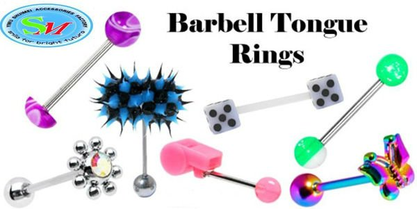 316L surgical steel penis tongue barbell ring body piercing jewelry ...
