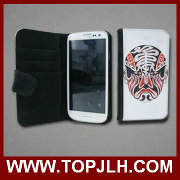 Hot saling sublimation leather mobile phone case for iphone 5 5s