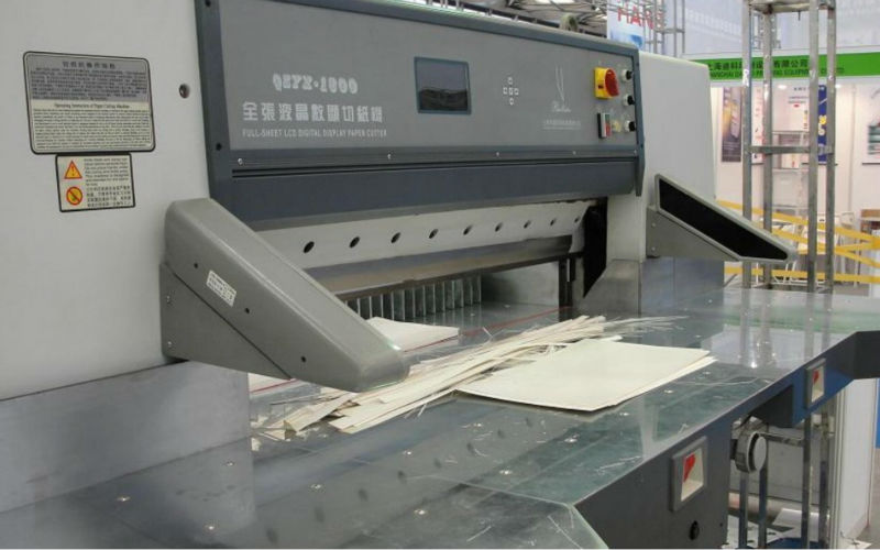 Hydraulic digital display paper cutter QZYX920DC
