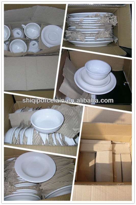 2013 new design fine porcelain dinner set in pakistan
