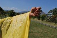 Дождевик Hiking Backpack Poncho Raincoat PVC Ground Sheet