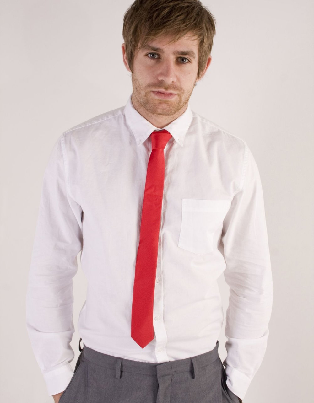 Mens Red Skinny Tie.jpg