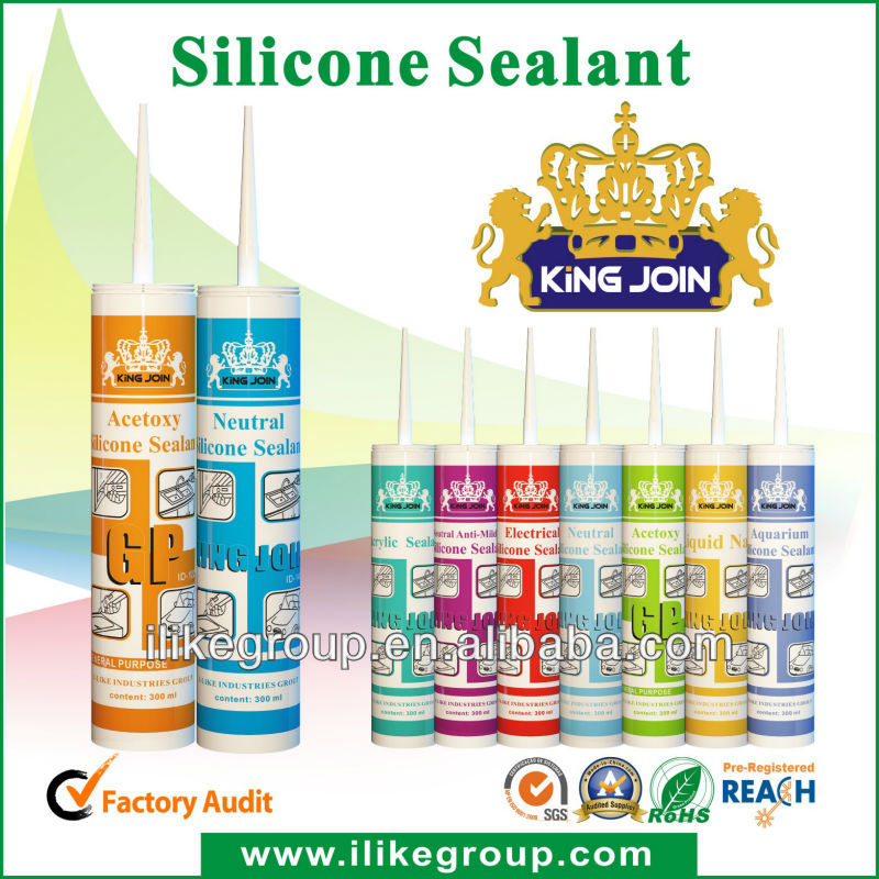 300ml One component acetoxy Silicones Sealant