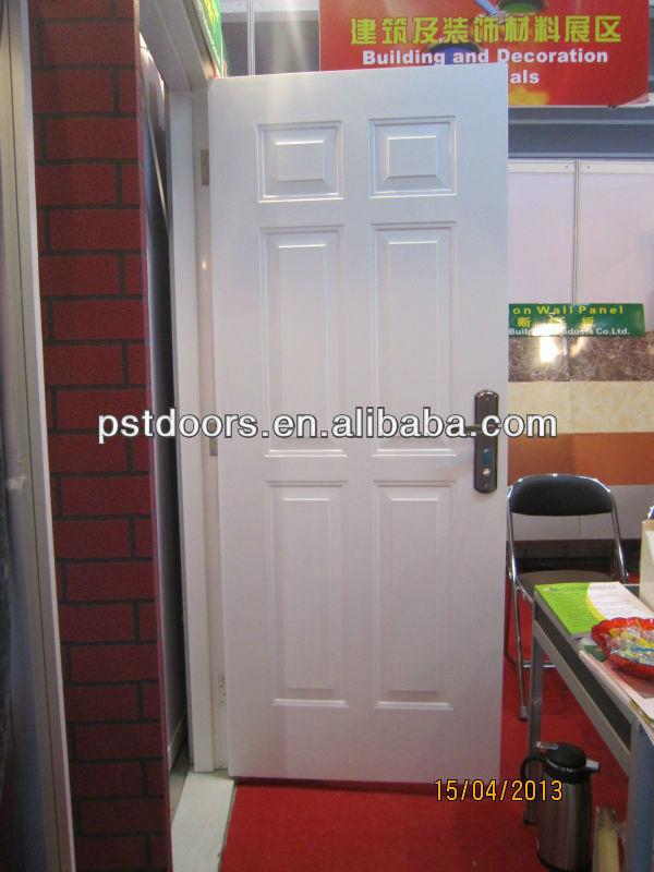 Residencial exterior de la puerta de acero barato puertas for Puertas de hierro para entrada principal