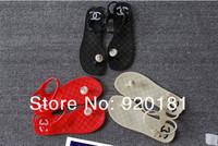 Женские сандалииs, Melissa Fashion Flat-bottomed flip mushroom head jelly shoes Fast Delivery, Best Quality