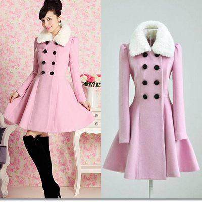 Pink Coat Dress - JacketIn