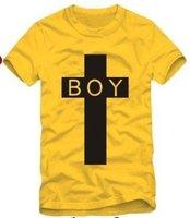 East Knitting FH-140 Women/Men Cross London BOY bigbang T-shirt Tops Good quanlity 6 colors