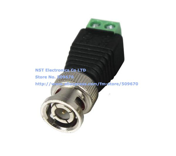 Coax CAT5 To Camera CCTV BNC Video Balun Connector-4.jpg