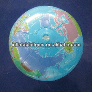 pvc promozionale sfera di spiaggia gonfiabile