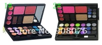 Макияжный набор Best selling! Comp act Makeup Set with 21 Eye Shadow 4 lipgloss 2 eyebrow cake 3 blusher 2PCS