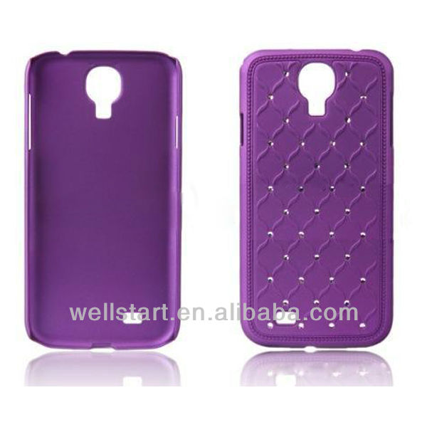 2014 wine cup platic mobile phone bags & cases for samsung s4
