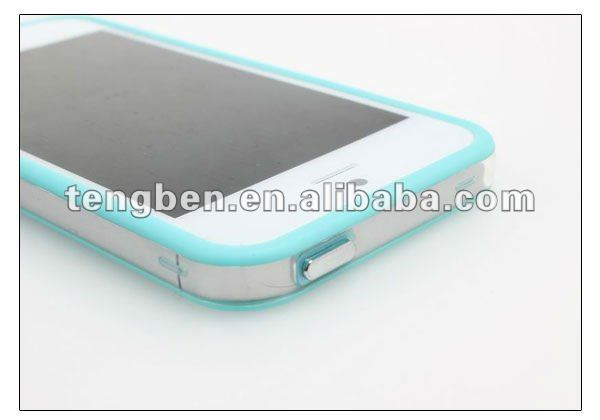 TPU+PC bumpers for iphone5