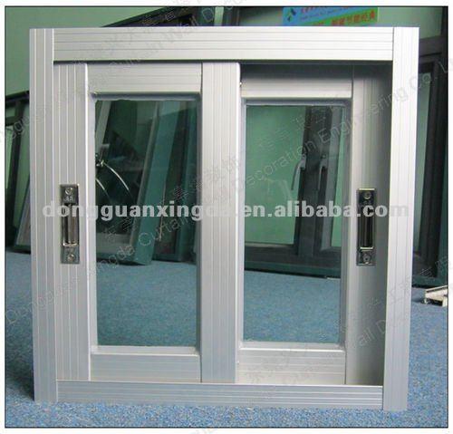 Puertas De Aluminio Blanco Para Baño:de aluminio a prueba de ladrones de la ventana para cuarto de baño