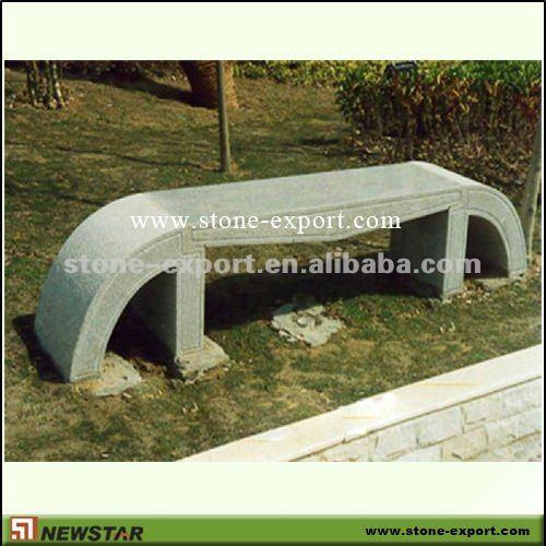 Newstar bancos de piedra natural productos de jard n de - Piedra para jardineria ...